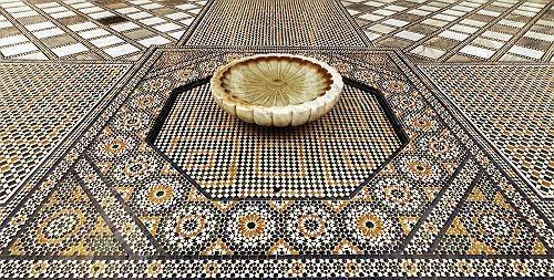 Марокканская мозаика (Zellige)